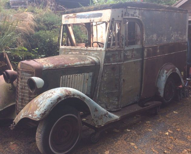 Special Delivery: 1934 International Mail Truck #BarnFinds #International - https://barnfinds.com/special-delivery-1934-international-mail-truck/
