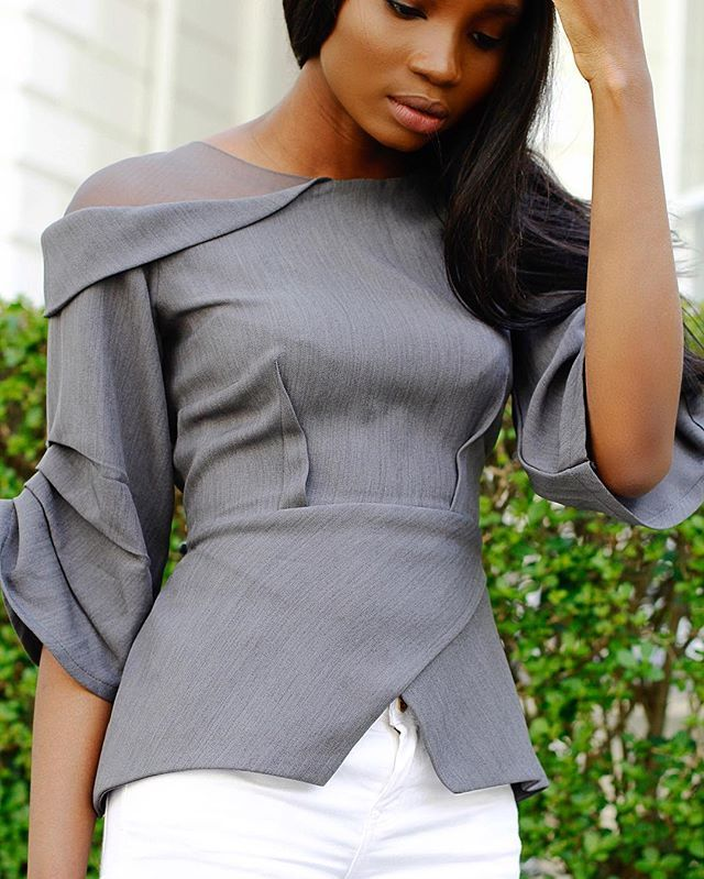 JESSICA PEARSON (Blouse) slayed by @paulaokunzuwa  #WSBloggerEdit…