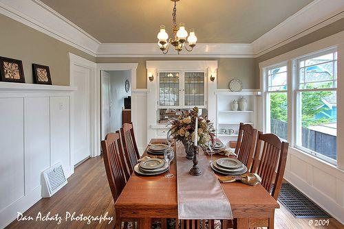 Old Craftsman dining room