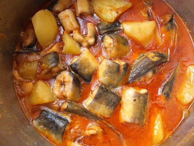 La cocina de Lola: All i pebre de anguilas con patatas