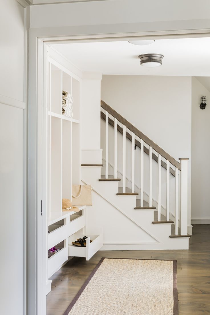 mudroom/stairway   LDa Architecture and Interiors