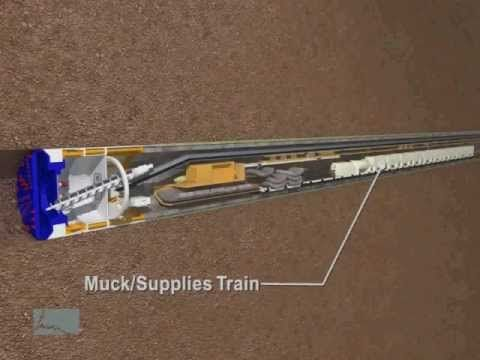Video courtesy of CDM/HMM Joint Venture - For engineering enthusiasts and anyone who's interested in the mechanics of siphon construction, this animation shows exactly how the 110-ton, 300-foot-long tunnel boring machine will drill a distance of nearly two miles, 100 feet beneath the New York Harbor seabed. Find out more about the Staten Island ...
