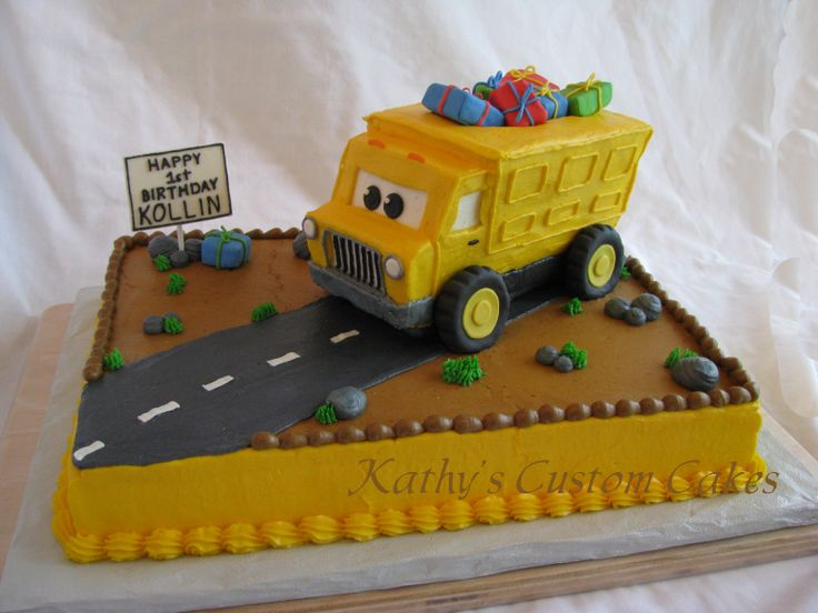 Dump Truck Cake Design : 100 best Cakes I Made images on Pinterest Birthday cakes ...