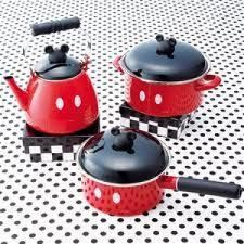 Mickey Pots & Pans. I really want these!!!