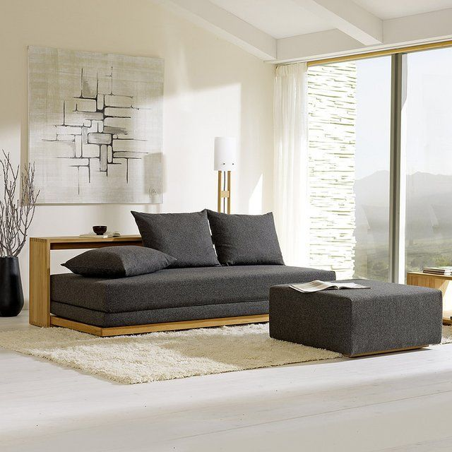 stefano sofa bed by gr ne erde dear future home pinterest contemporary sofa grey and design. Black Bedroom Furniture Sets. Home Design Ideas