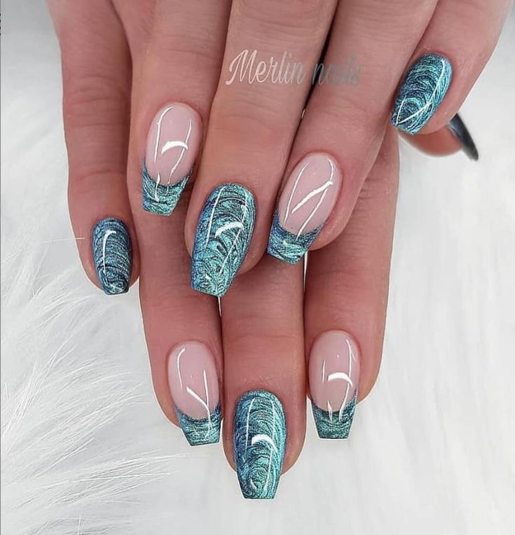 56 Beautiful Natural Square Nails Design For Short Nails – Page 11 of 19 – Fashi…
