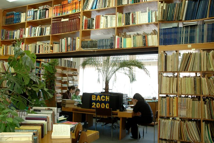 Library of Conservatory #DEENK