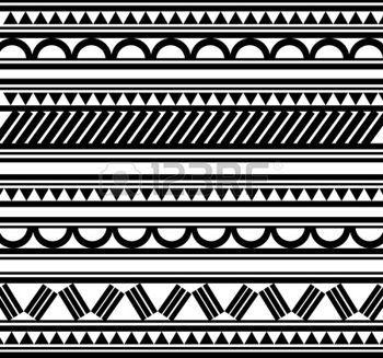 Maoris bracelet polyn�sien tatouage style photo …