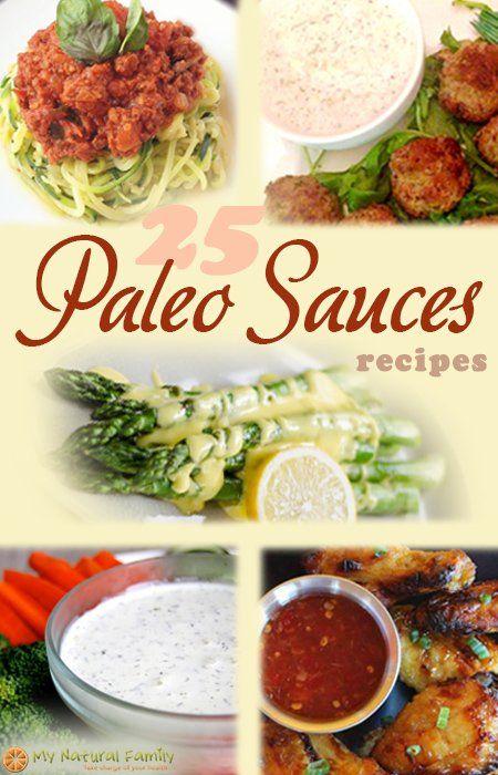 Paleo Sauce Recipes - My Natural Family