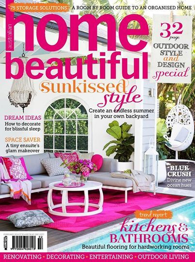 Our Natal Alu outdoor sofa looking very pretty in pink!!  If you're looking for inspiration to create your own outdoor paradise, don't miss out on the bonus style and design special in the Feb issue of Home Beautiful Magazine Australia.  http://www.coshliving.com.au/