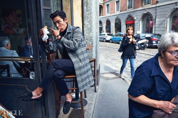 Big Bang TOP - Vogue Magazine November Issue '14