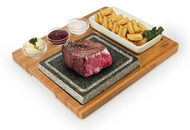 Artestia Barbecue / BBQ / Hibachi / Steak Grill Sizzling Hot Stone Set, Deluxe Tabletop Grill >> If you love this, read review now : Roasting Pans