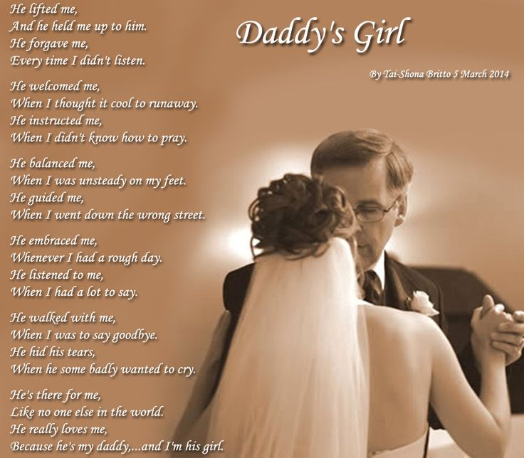 Daddy's Girl - Poems about Family