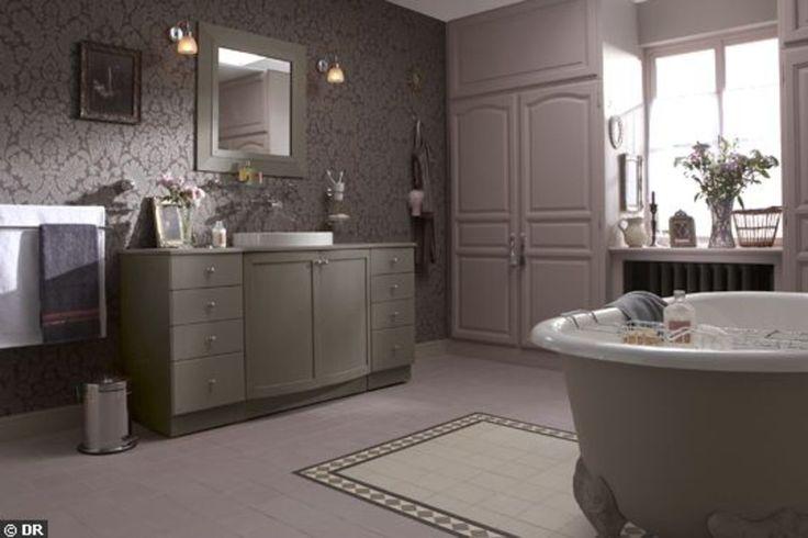 Les 25 meilleures id es de la cat gorie revetement de sol for Peindre les carreaux de salle de bain