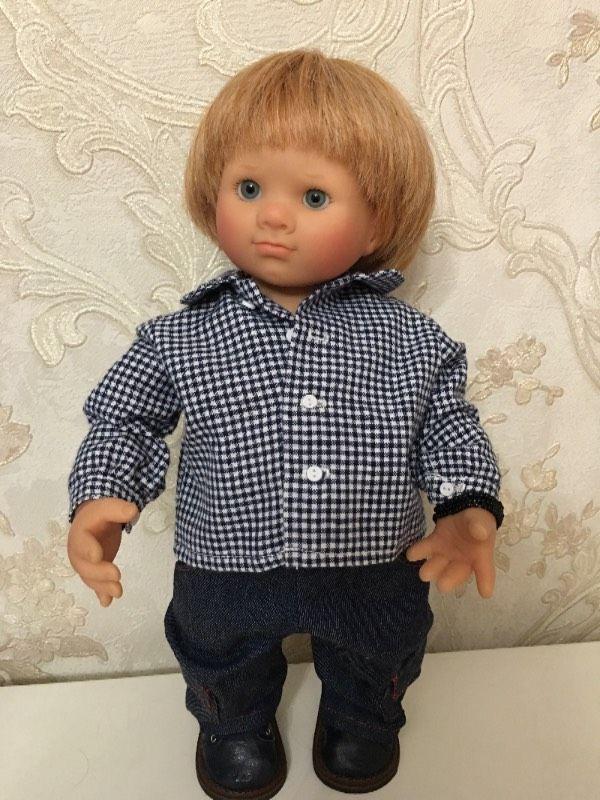 Продаю трогательного малыша, продажа-вынужденная, недавно куплен на нашем сайте! Студийный, в «родном» аутфите, паричок-натуральные волосы, глазки-стекло! Нет коробки и сертификата-так / 20 000р
