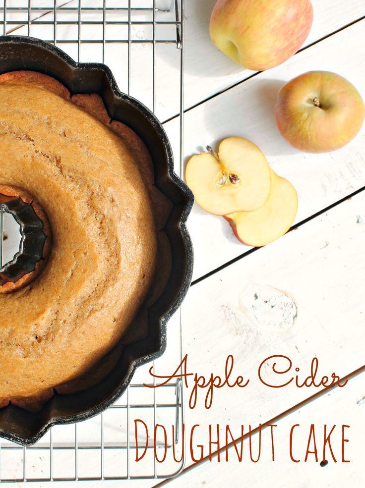 Apple Cider Doughnut Cake | Cakes & Icings/Frostings | Pinterest