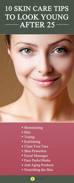 If you want the same young looking, vibrant #skin with no ageing signs, then you need to follow a routine for skin care after 25. Read to know the ...