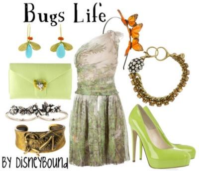 .Disney Style, Disney Clothing, The Dress, Inspiration Outfit, A Bugs Life, Disney Inspiration, Disney Bound, Disneybound, Disney Fashion