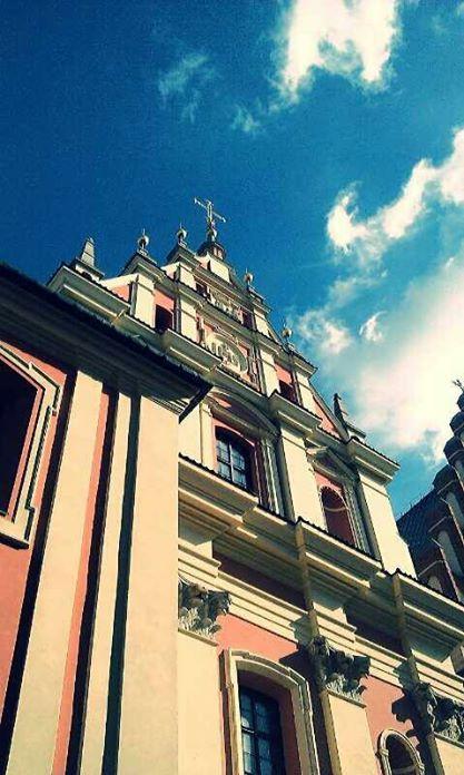 wonderful church in Warsaw