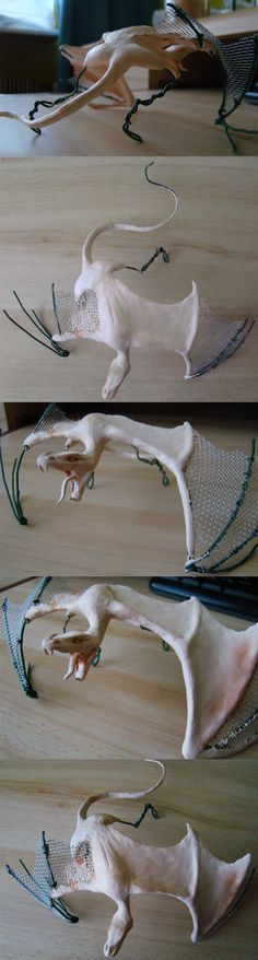 Dragon Sculpture Progress by Dilamon on DeviantArt