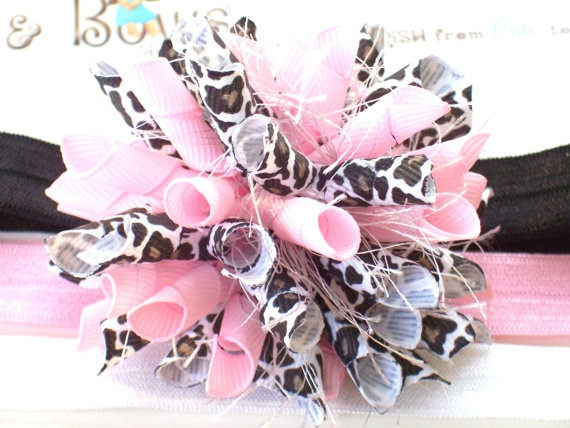Pink & Leopard Print - Adorable!