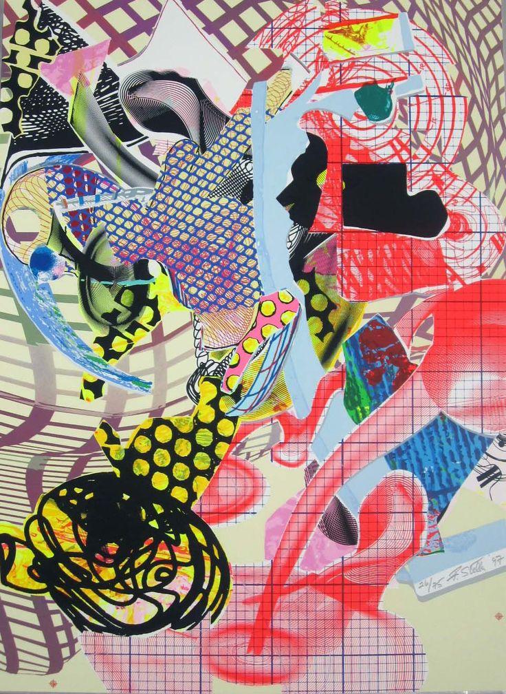 Les 260 meilleures images du tableau frank stella sur for Frank stella peinture