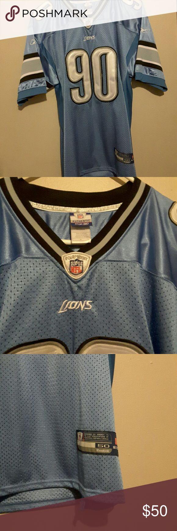 Detroit Lions Suh Jersey Detroit Lions football jersey Reebok Shirts