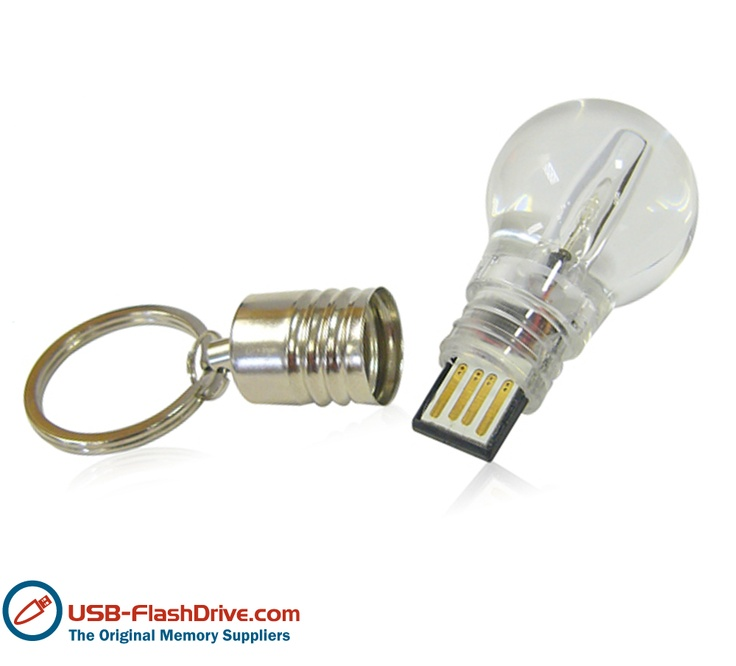 Light Bulb USB Flash Drive - what a bright idea!