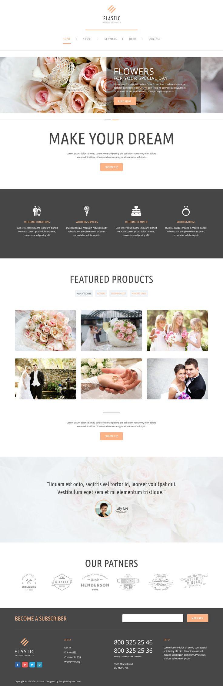 858 best Wordpress Themes images on Pinterest   Wordpress template ...