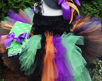Bustle Tutu, Witch Bustle Tutu, Halloween Costume, Witch Costume, Girls Halloween Costume, Toddler Witch Costume, Witch Tutu Costume, Fall