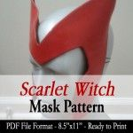 Mask Pattern - Scarlet Witch