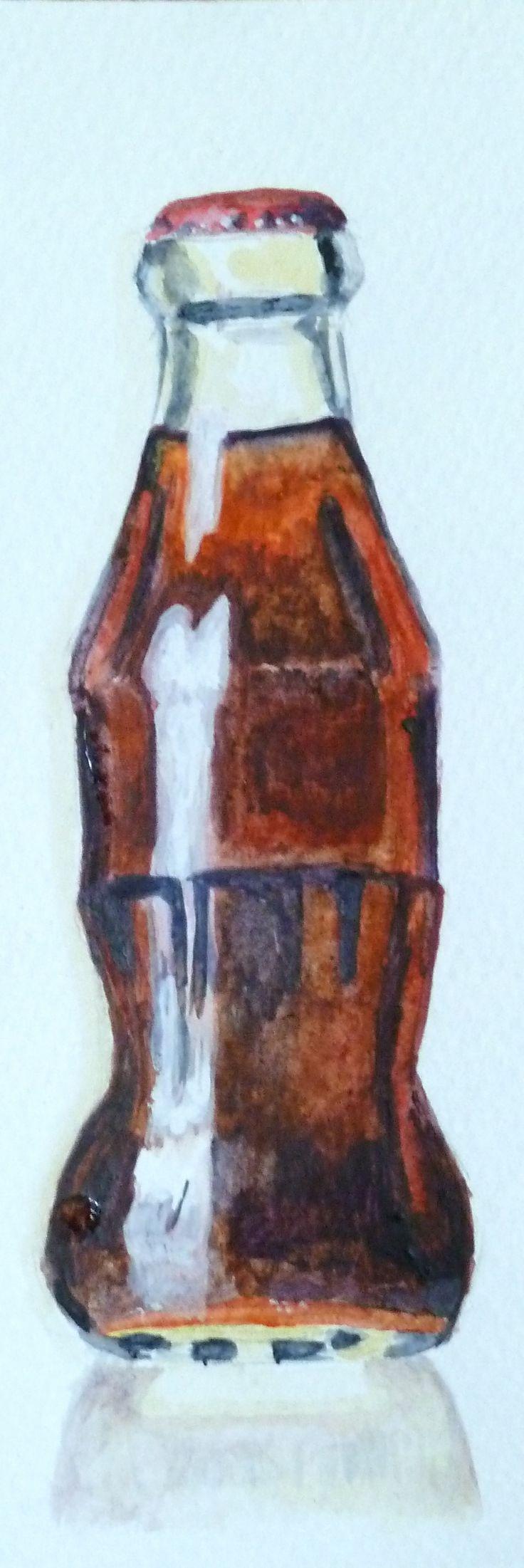 soda pop; watercolor; 2013.