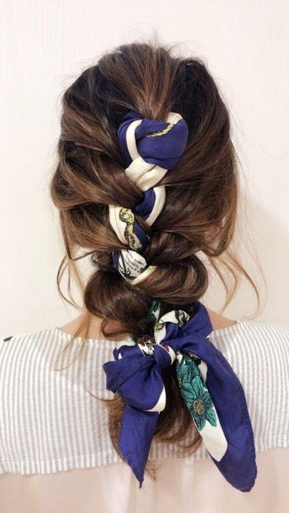 Remark mettre, nouer, porter foulard cheveux?