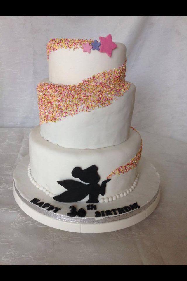 Tinkerbell-Kuchen ... auch für große Fans einfach klasse