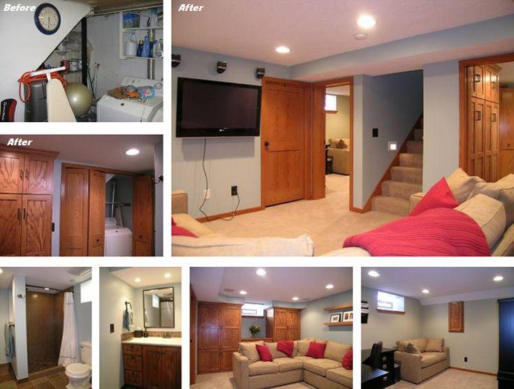 Low Ceiling Basement Remodeling Ideas 21 best basement design ideas images on pinterest | basement