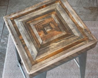 Industrial Counter Height PUB TABLE Reclaimed di ReclaimedSwag