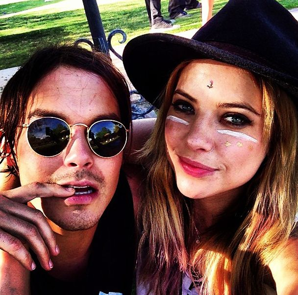 tyler blackburn and ashley benson coachella - Pesquisa Google