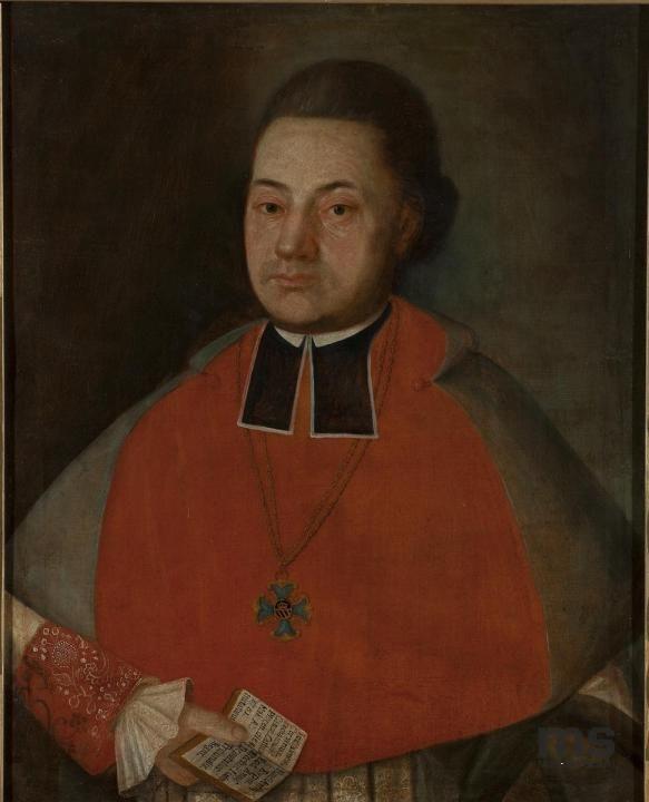 nieznany, Portret kanonika Józefa Korwin - Kochanowskiego   Zbiory on-line Muzeum Sztuki w Łodzi