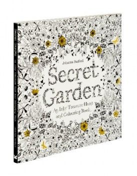 Secret Garden : An Inky Treasure Hunt and Colouring Book (Johanna Basford) Kniha