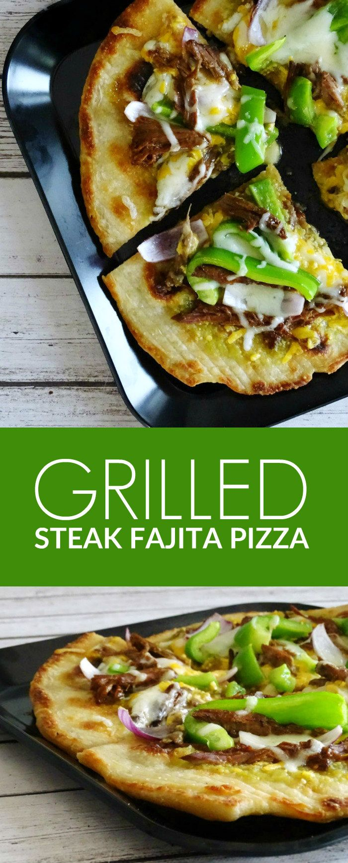 Put this Grilled Steak Fajita Pizza on your dinner menu today! Try out a recipe that will impress your family. This will make a meal everyone will enjoy.