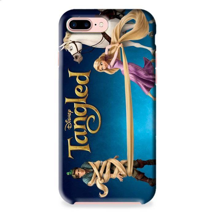Tangled Disney Wallpaper Princess Rapunzel iPhone 7 3D Case Dewantary