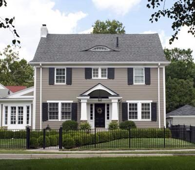 Best Charcoal Roof Gray House Home Exterior Revamp 400 x 300