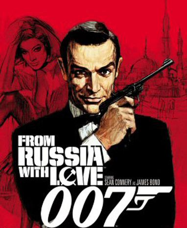 """On Nov. 20, 1963, """"From Russia with Love"""" was the last film President Kennedy saw at the White House before going to Dallas."""
