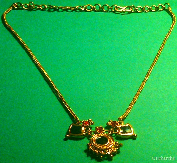 Micro gold plated Palakka Mala.It is a Traditional South Indian Kerala jewelry.