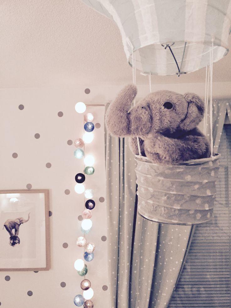 BABY / NURSERY / INTERIOR / BEDROOM / IDEAS / SCANDINAVIAN / PASTER / MINT GREEN / BABY BLUE / ELEPHANT //
