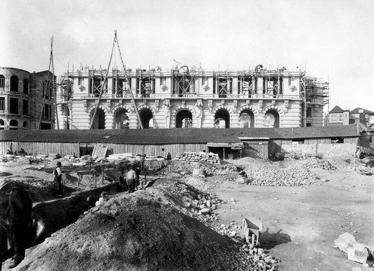 Construção da Câmara do Porto