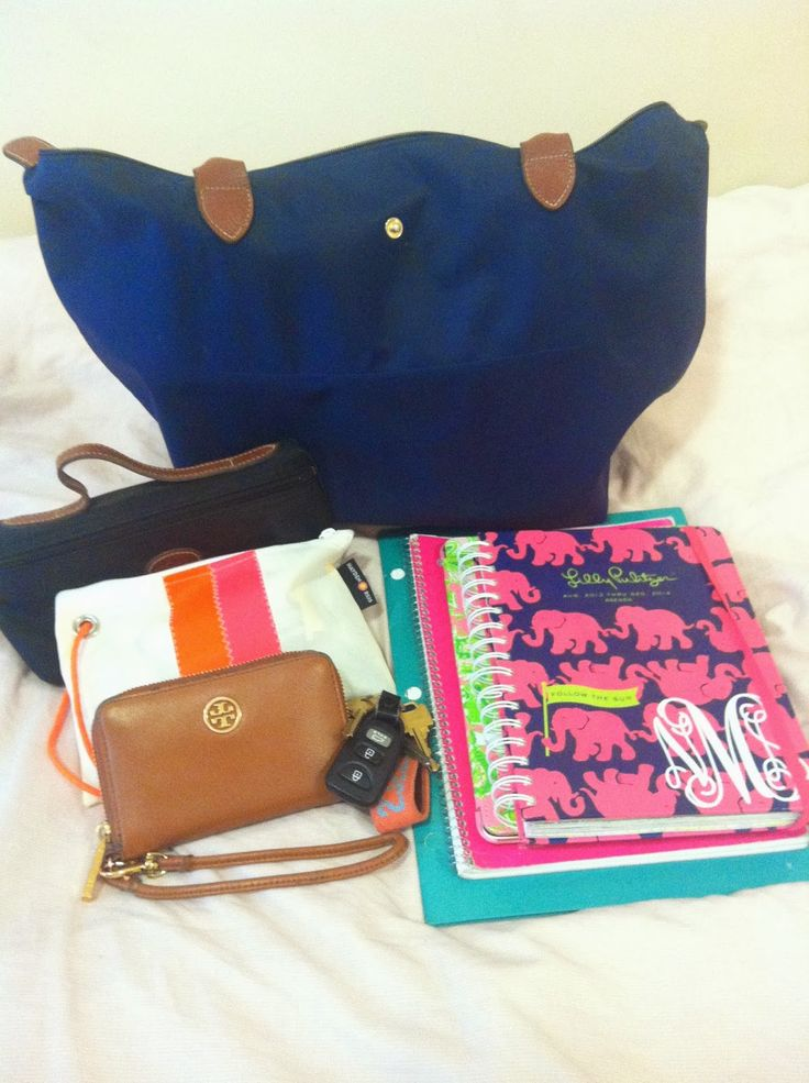 Miss Southern Prep: What's in my tote?