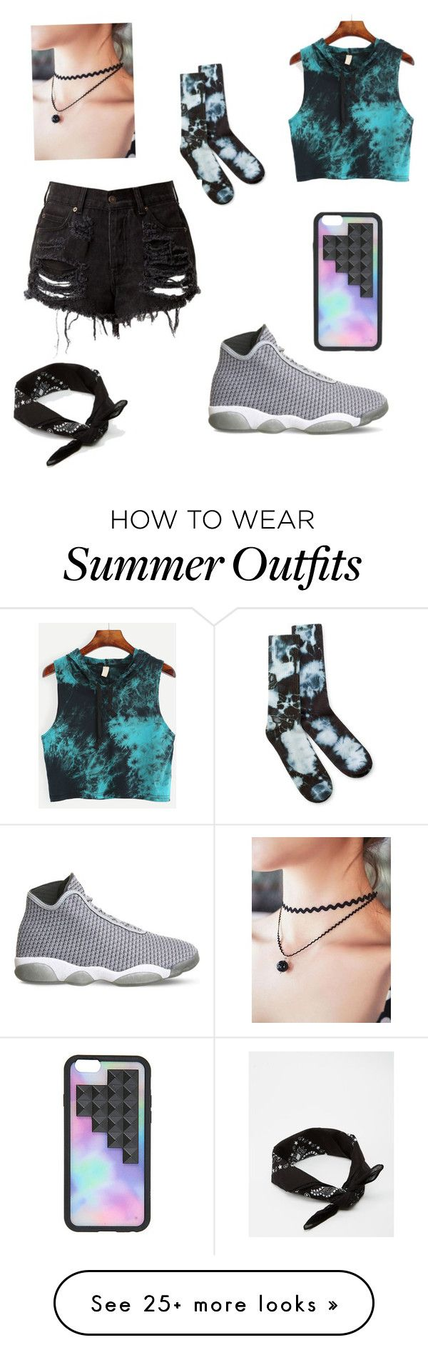 """Summer outfit"" by ellaglitter on Polyvore featuring NIKE and ASOS"
