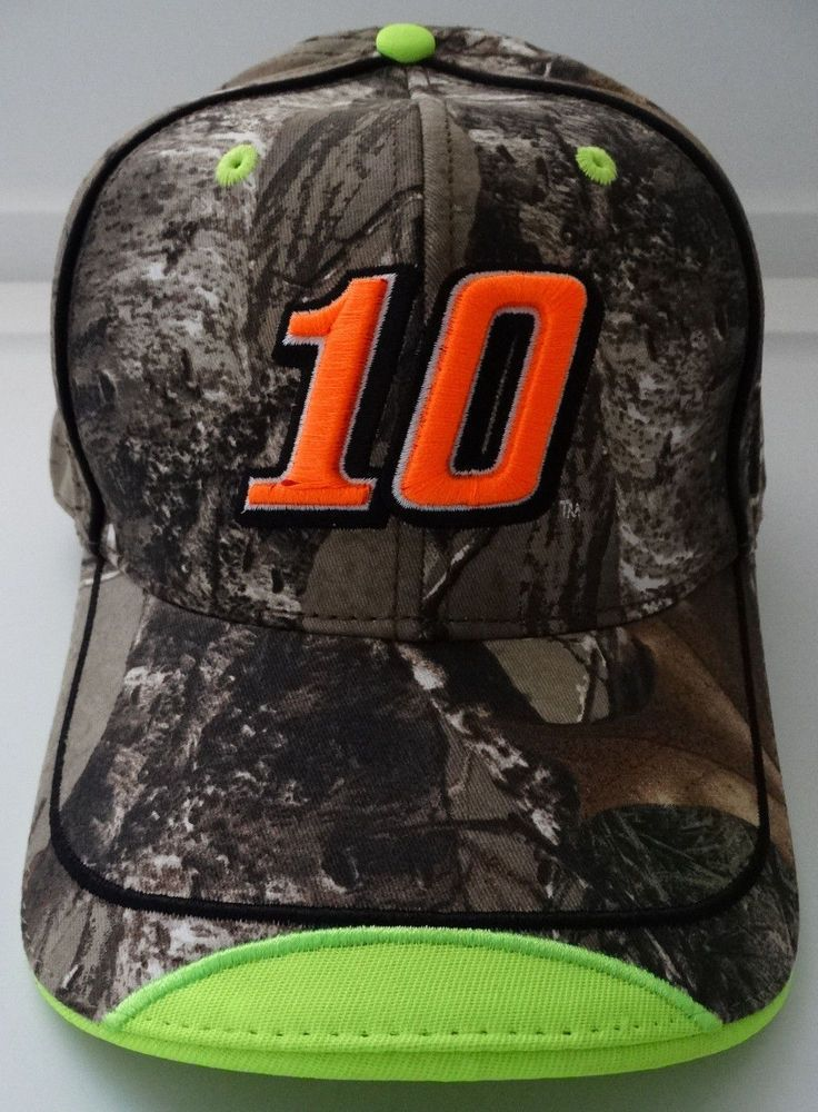 Danica Patrick #10 Realtree Camouflage Camo Nascar Hat #StewartHaasRacing