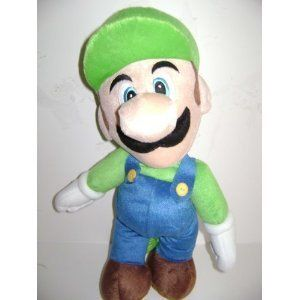 Nintendo Mario Bros. Luigi Large Plush Backpack 18 inches - Plush Doll with double straps on the back by Nintendo. $13.00. new